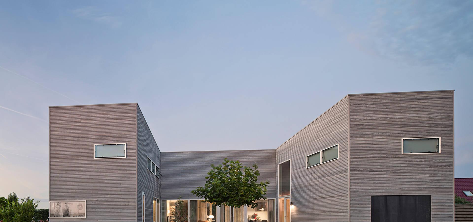 Huis in harkstede wonen en werken in een budget villa door rvdv architectuur homify - Ingang huis idee ...