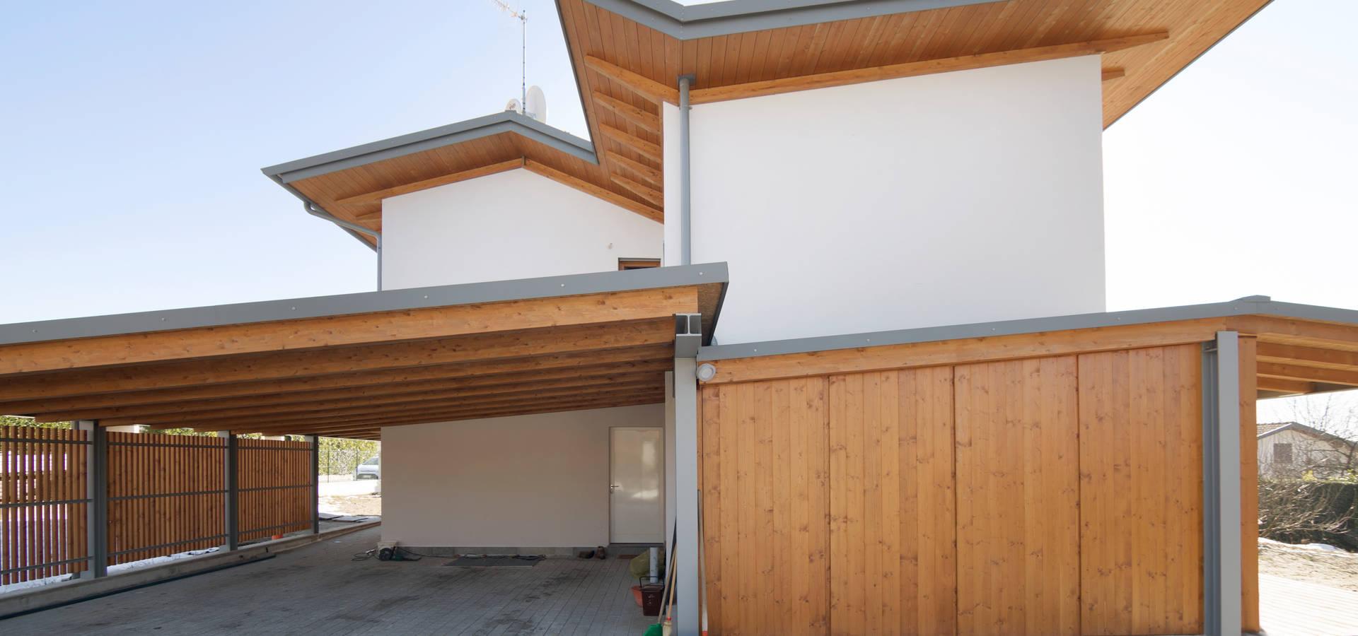 Ville prefabbricate in legno eleganti ed ecologiche di for Case in stile arti e mestieri
