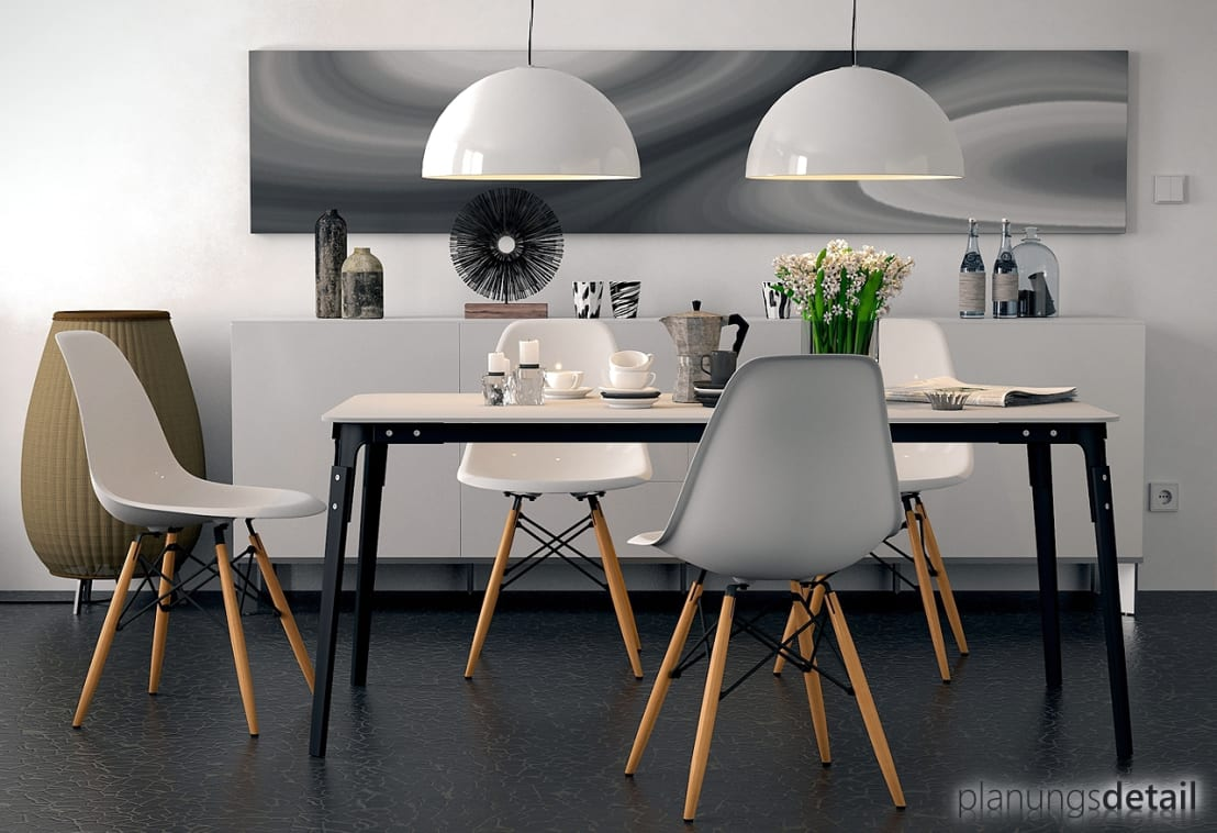 esszimmer verschiedene st hle m belideen. Black Bedroom Furniture Sets. Home Design Ideas