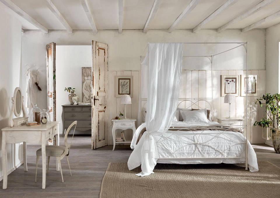 schlafzimmer gestalten - 9 stilrichtungen - Englischer Landhausstil Schlafzimmer