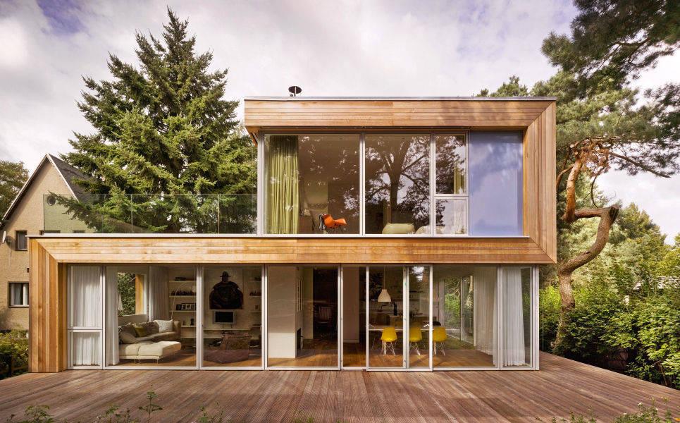 Fertighaus holz glas  Haus Jacobs von Innenarchitektur Berlin | homify