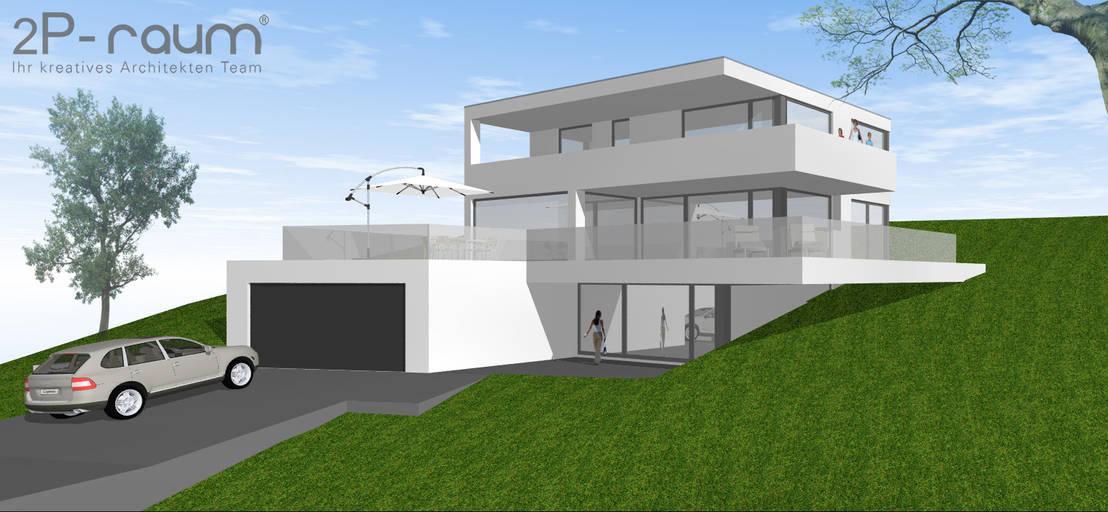 Bauhaus villa am hang von 2p raum architekten homify - Bauhaus architektur hauser ...