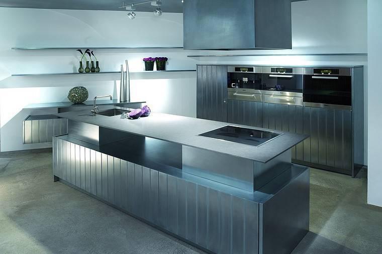 Innenarchitektur Küchenoberflächen Beste Wahl Küchenoberfläche Aus Metalleffektlack By Küchengaleria Oßwald Gmbh