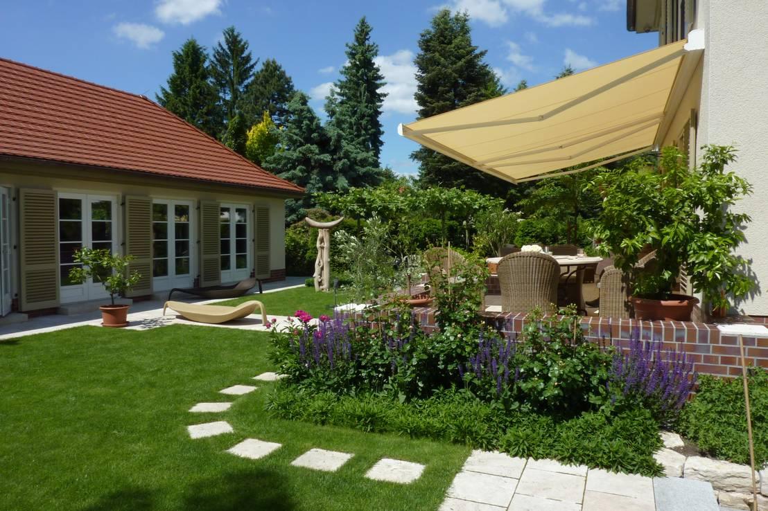Come proteggere il terrazzo dal sole: 9 esempi