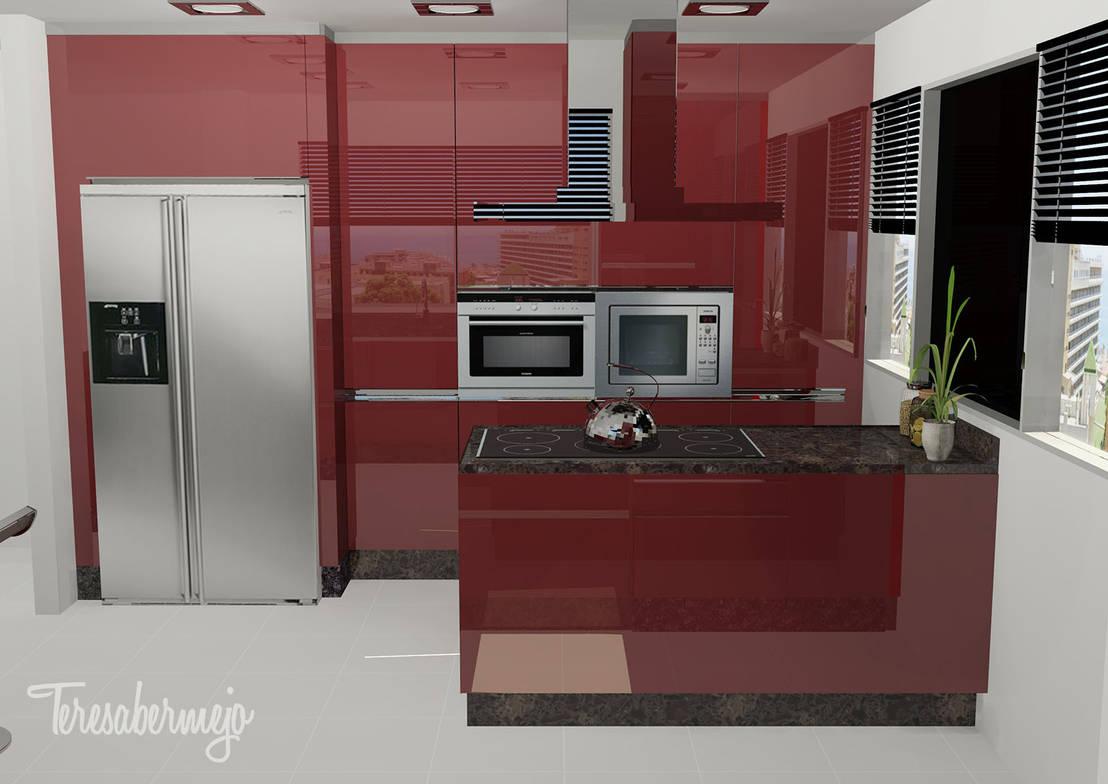 Dise adora de interiores decoradora y home stager la cocina de lino homify - Disenadora de interiores ...