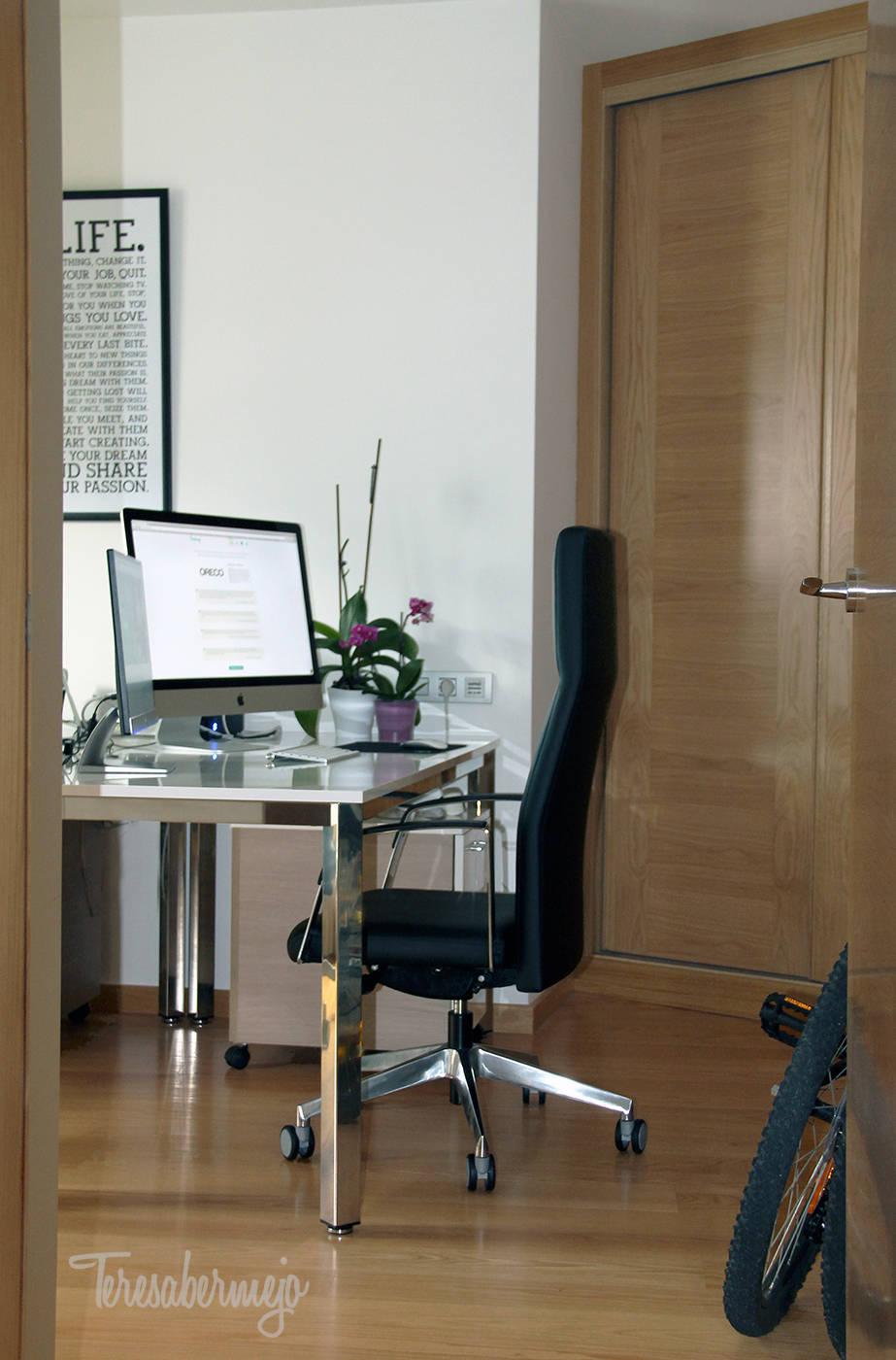 Oficina en casa door dise adora de interiores decoradora - Disenadora de interiores ...