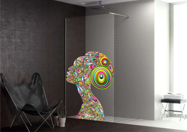 kunst im bad duschen mal anders. Black Bedroom Furniture Sets. Home Design Ideas