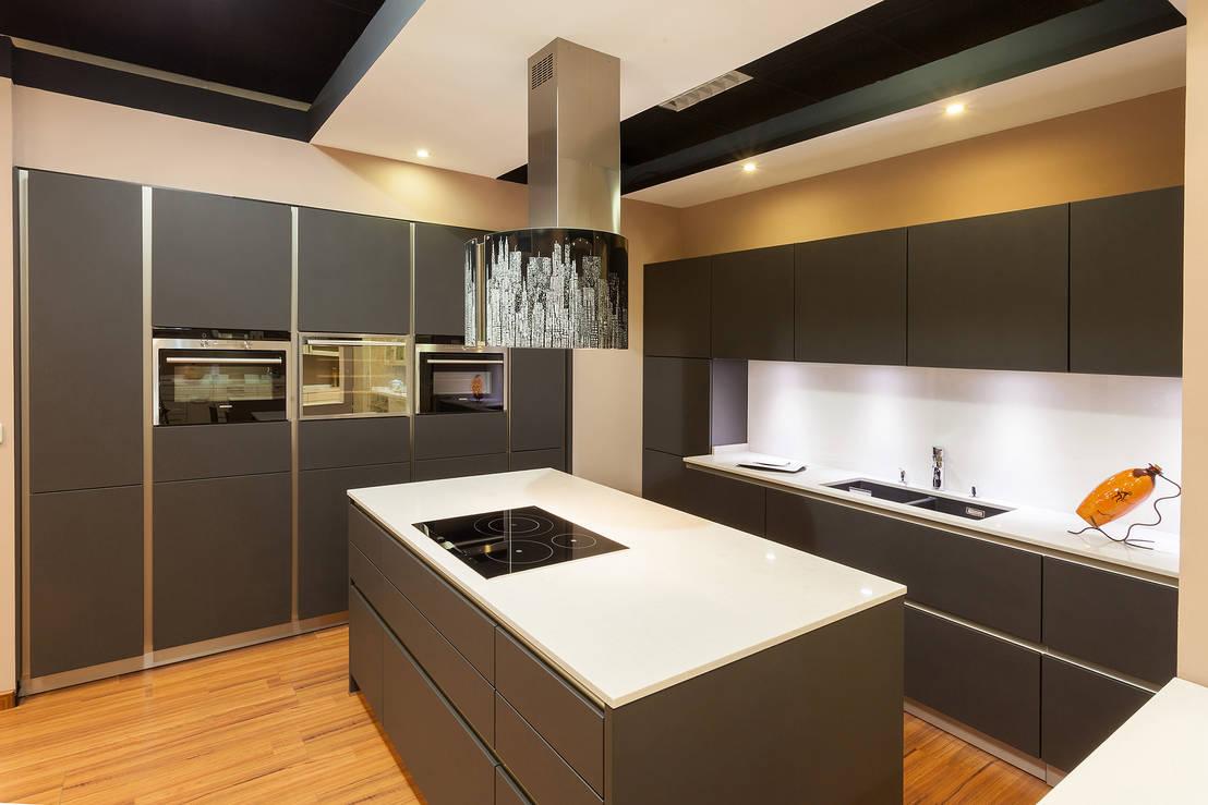 Showroom madrid de cocinas rio homify - Exposiciones de cocinas en madrid ...