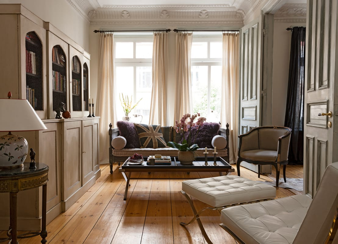 einrichtungsprojekt altbauwohnung in hh von atmosphere judith thiel homify. Black Bedroom Furniture Sets. Home Design Ideas