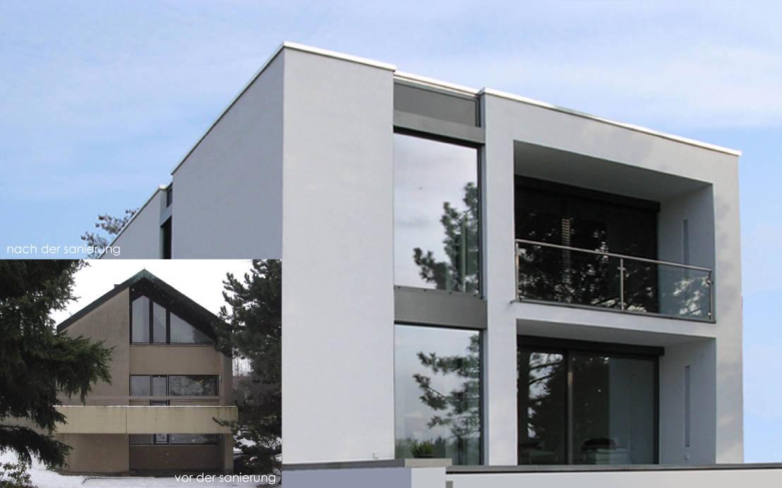 umbau und energetische sanierung eines einfamilienhauses mit einliegerwohnung in regensburg s d. Black Bedroom Furniture Sets. Home Design Ideas