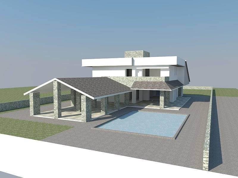 Progetto villa singola de homify for Villa singola moderna