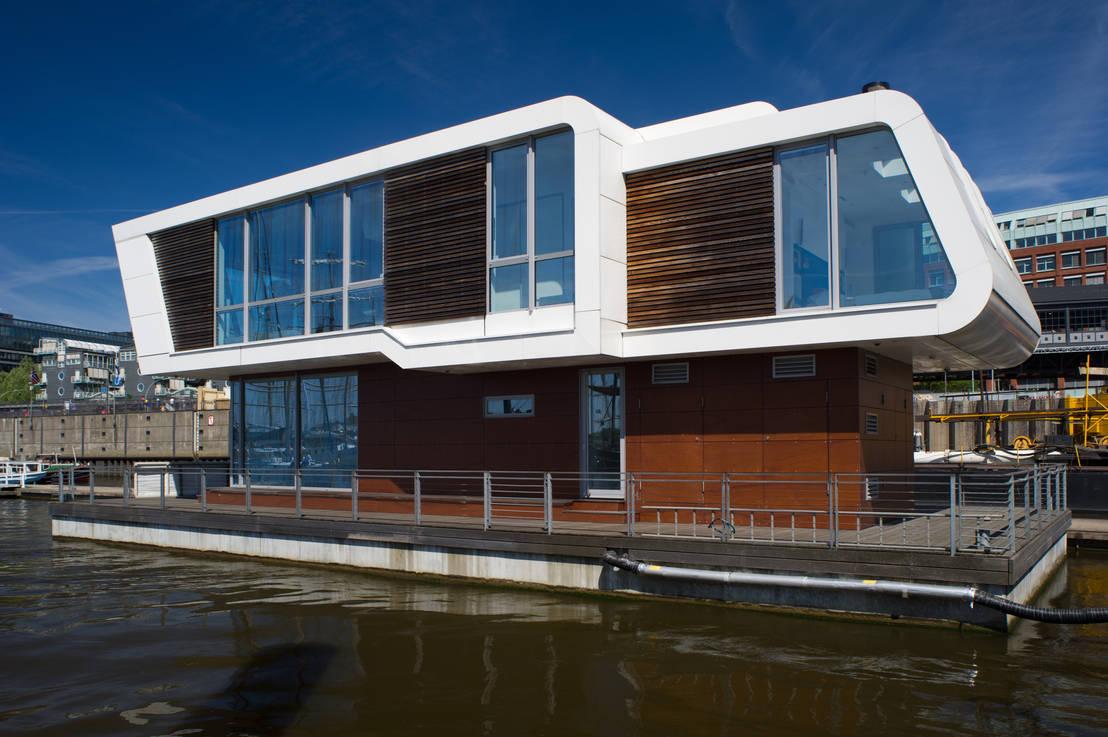 homify 360 floating homes ein leben auf dem wasser. Black Bedroom Furniture Sets. Home Design Ideas