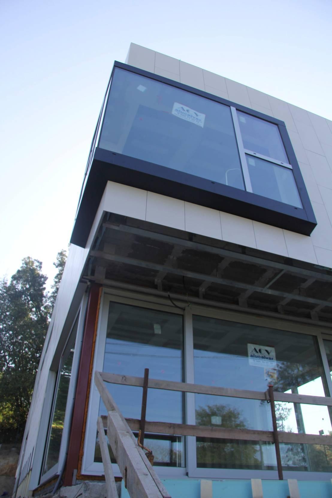 Huga arquitectos vivienda unifamiliar en vigo spain homify - Arquitectos en vigo ...
