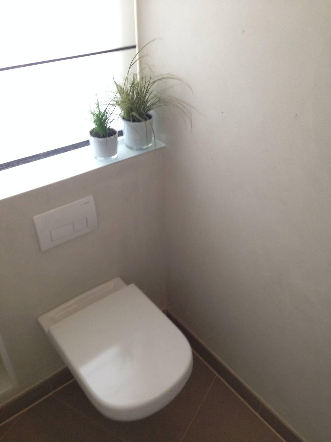 g ste wc fugenlos betonlook von jakob messerschmidt gmbh malerfachbetrieb homify. Black Bedroom Furniture Sets. Home Design Ideas