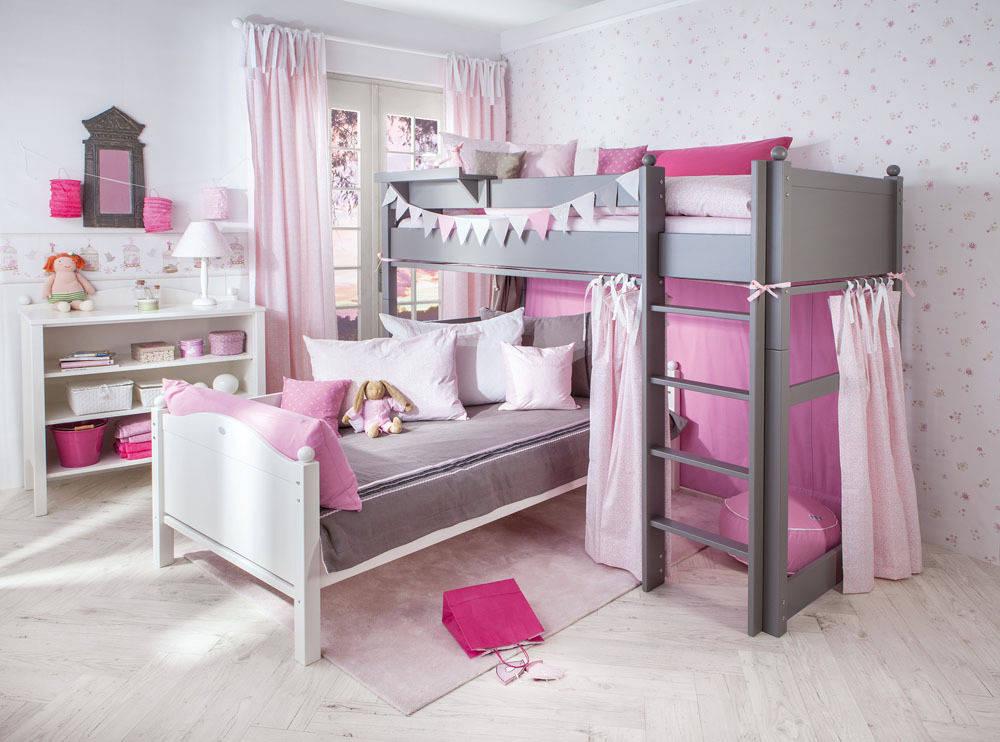 Geräumig Mädchenzimmer Wandgestaltung Sammlung Von