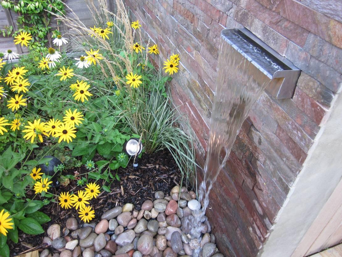 9 fuentes que se ver n sensacionales en jardines peque os - Fuentes para jardin pequeno ...
