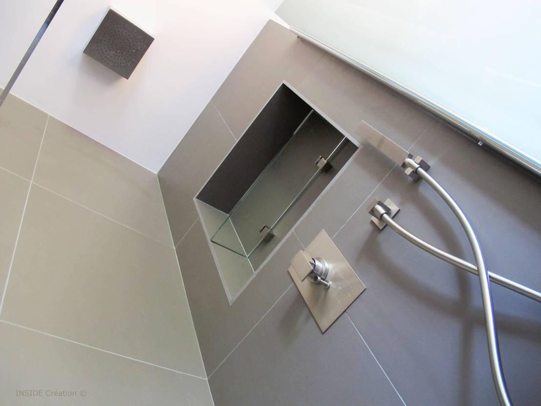 salle de bain en b ton cir by inside cr ation homify. Black Bedroom Furniture Sets. Home Design Ideas