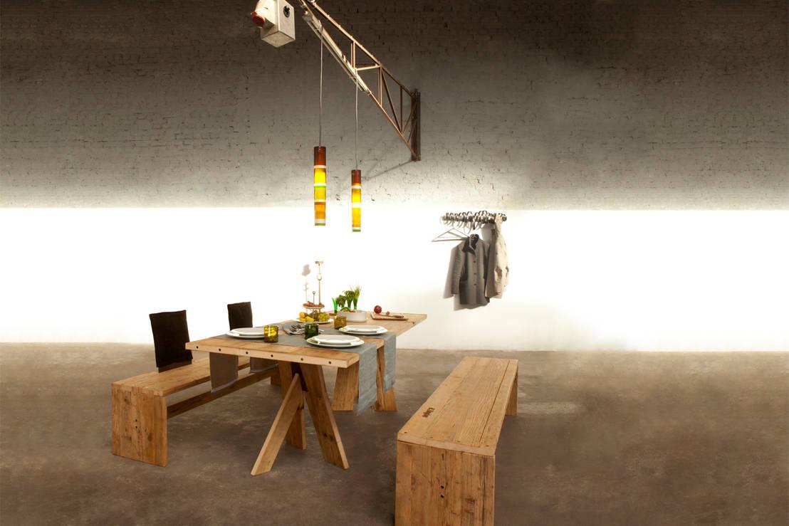 Perché non delle panche in sala da pranzo?