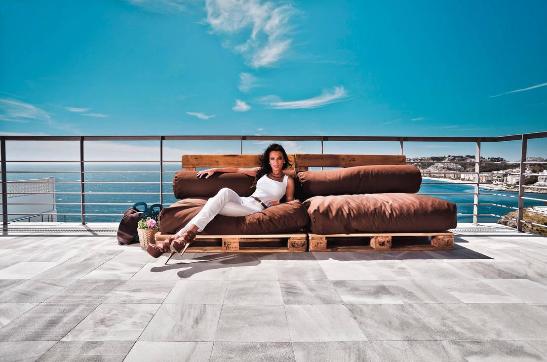 originelle outdoor m bel. Black Bedroom Furniture Sets. Home Design Ideas
