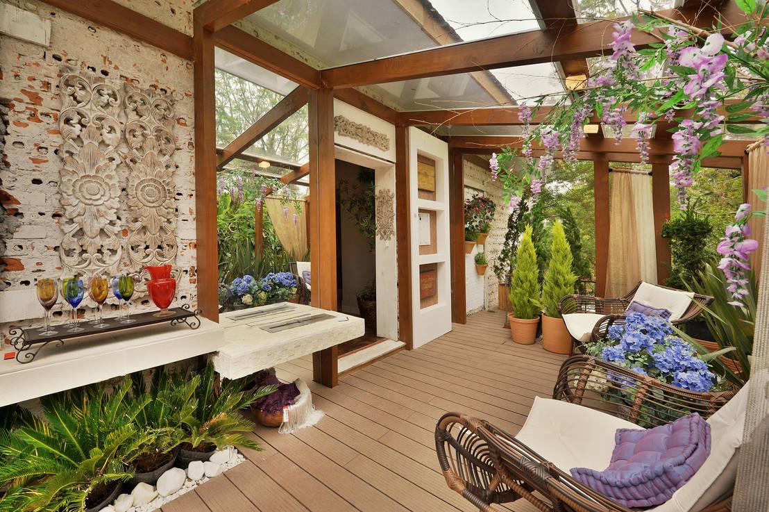 Il bello di un tetto trasparente:le insospettabili magie del ...