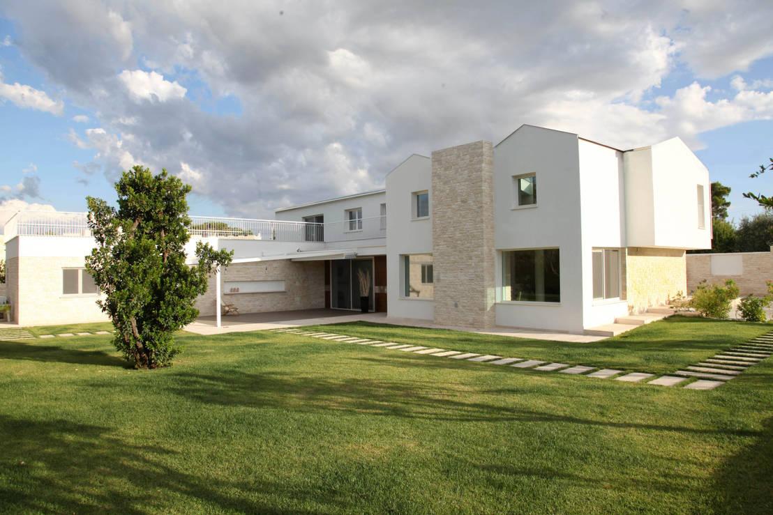 M12 architettura design villa f 09 homify for Architettura design
