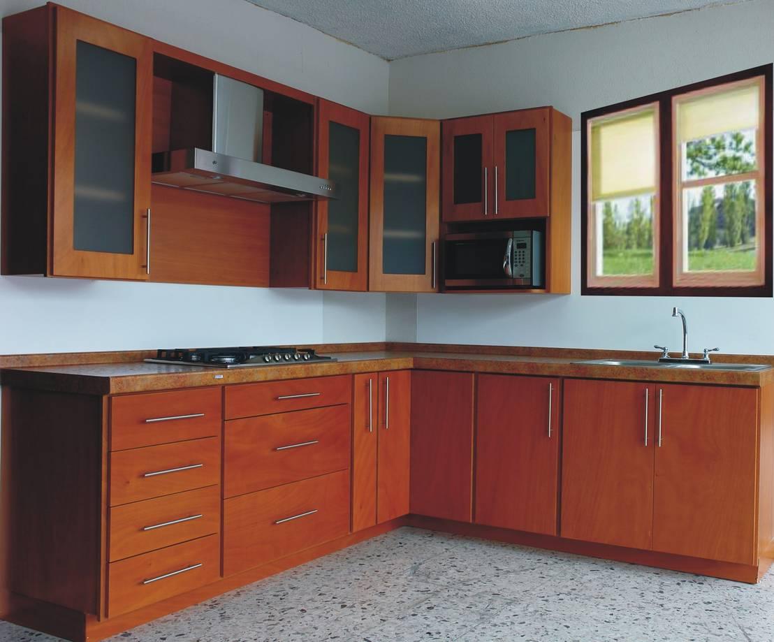 Cocina avellana de lapuerta closet 39 s y cocinas homify for Cocinas homify
