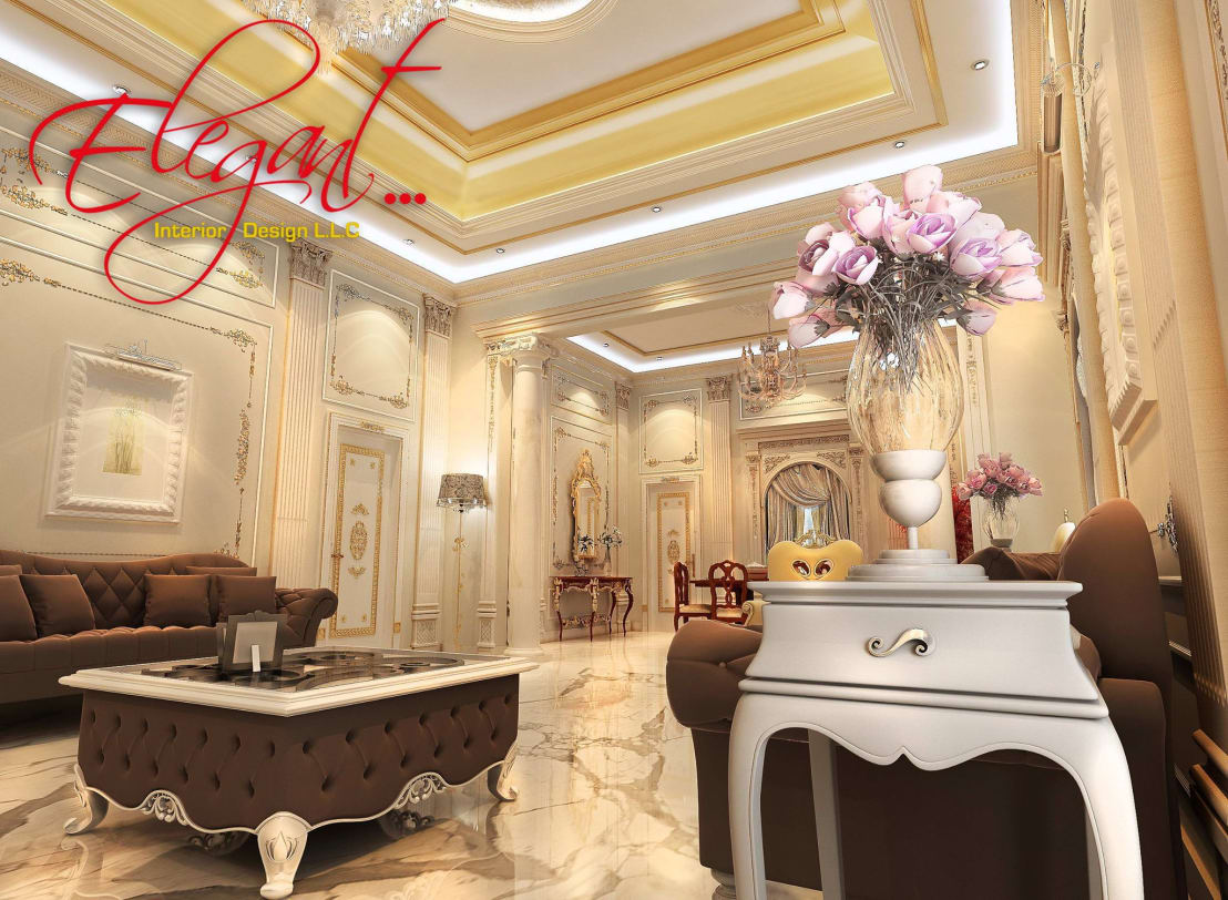 Elegant Interior Design Llc Luxury Villa Homify