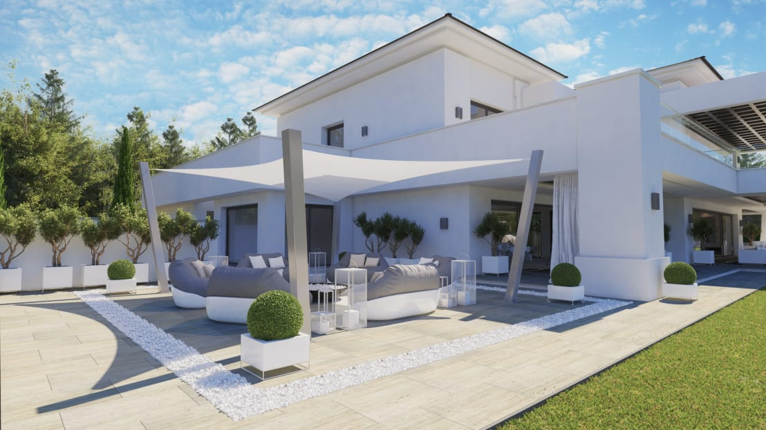 Ark arquitectos do ana sotogrande homify for Arquitecto sotogrande