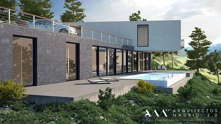 Una vivienda de lujo en la sierra de madrid proyecto de - Arquitectos de madrid ...