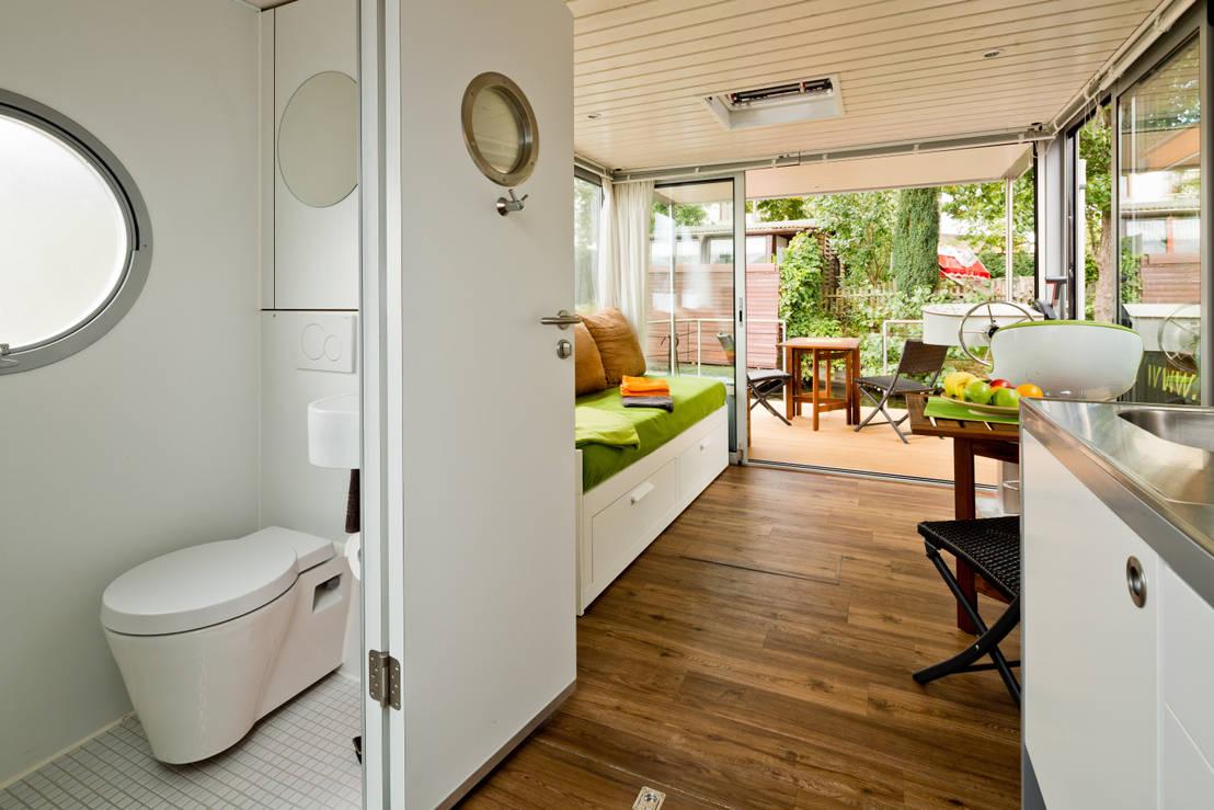 nautino premium mini de nautilus hausboote gmbh homify. Black Bedroom Furniture Sets. Home Design Ideas