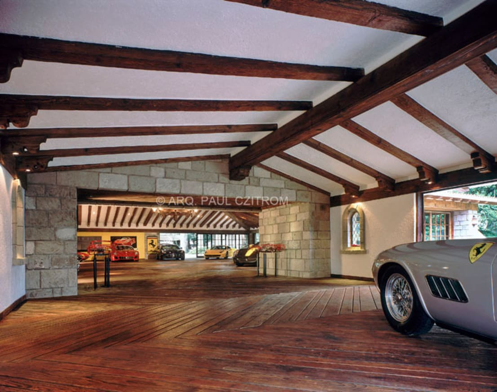 10 fant sticos garajes con madera - Garage de madera ...