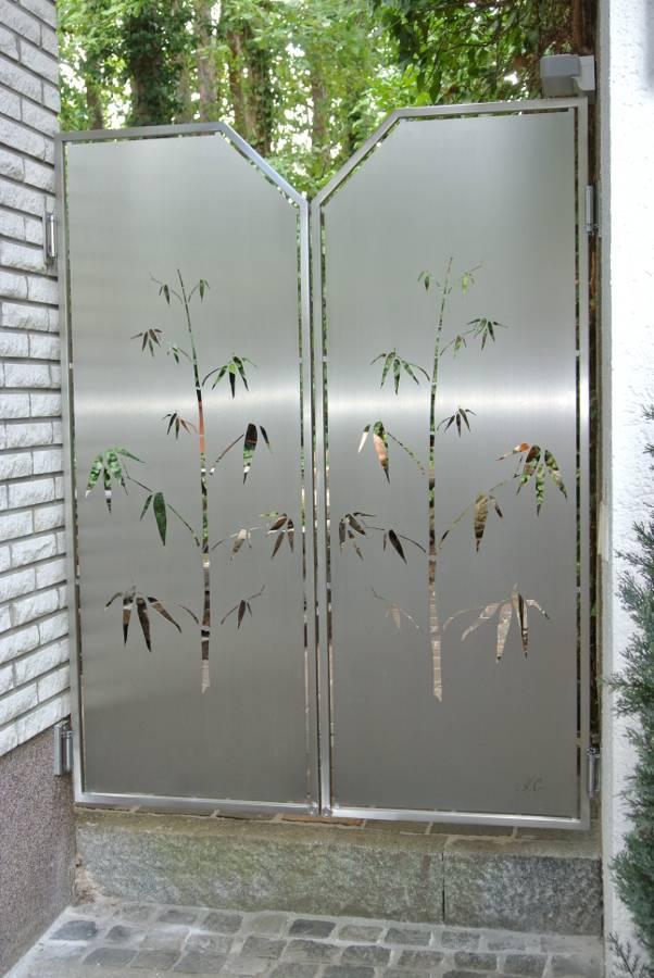 Moderne Edelstahltore Von Edelstahl Atelier Crouse Individuelle