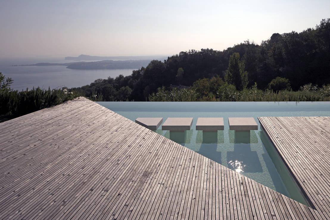 casa olearia paigle lago di garda von brandl architekten bda homify. Black Bedroom Furniture Sets. Home Design Ideas