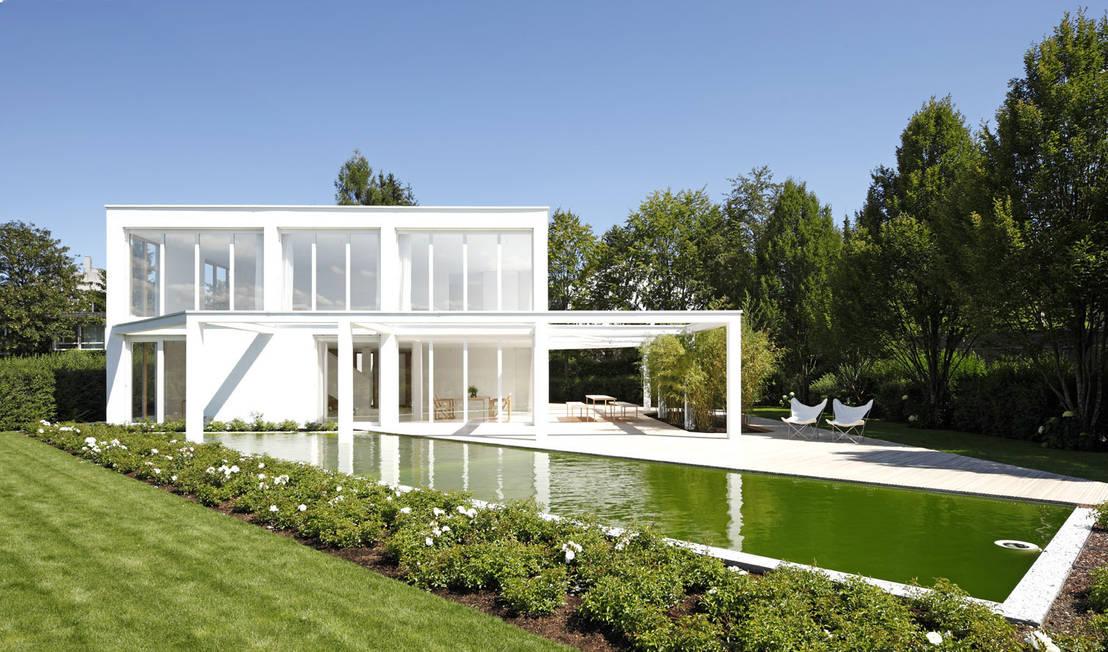 haus g regensburg di brandl architekten bda homify. Black Bedroom Furniture Sets. Home Design Ideas