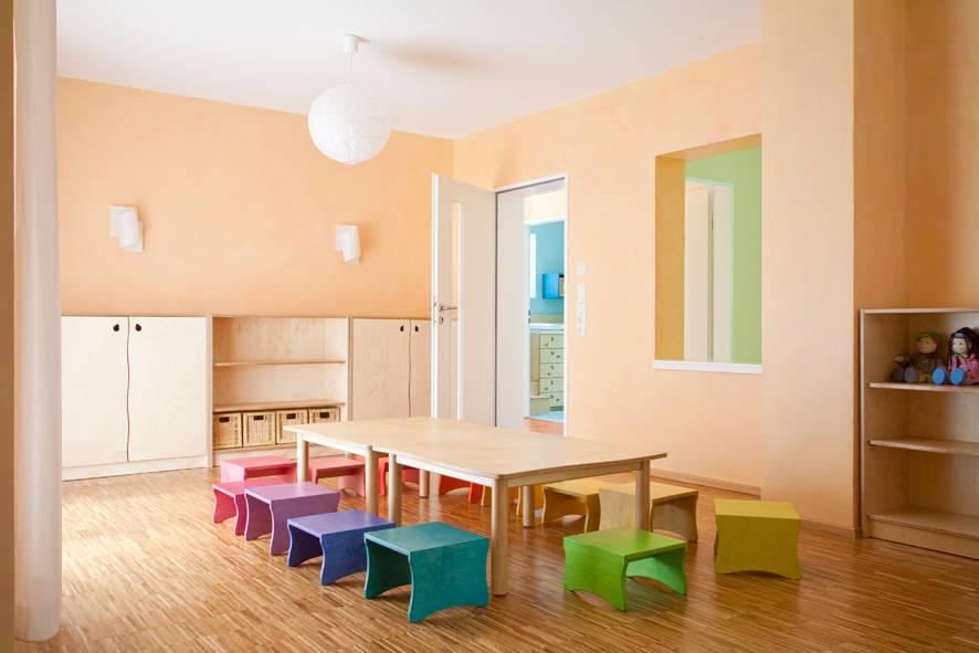 moderne kinderg rten innovativ und kindgerecht. Black Bedroom Furniture Sets. Home Design Ideas