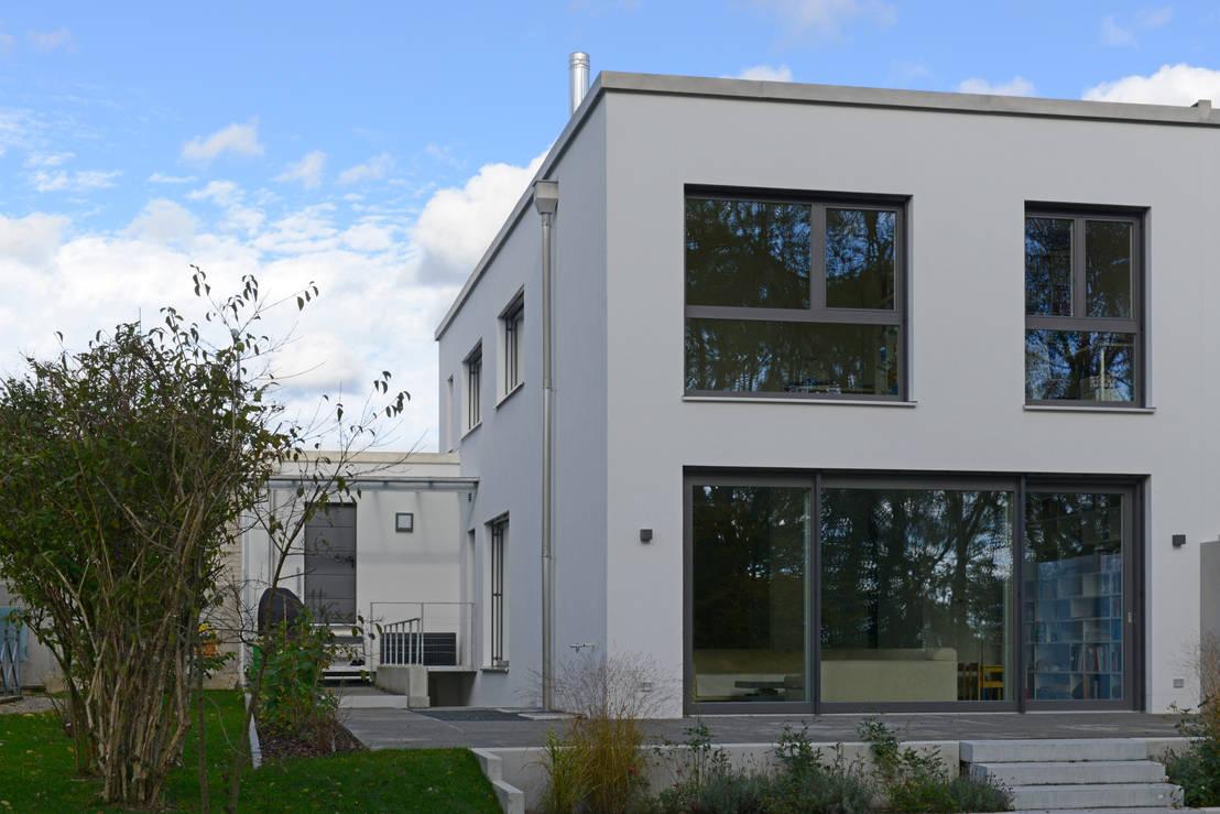 einfamilienhaus in freising von herzog architektur homify. Black Bedroom Furniture Sets. Home Design Ideas