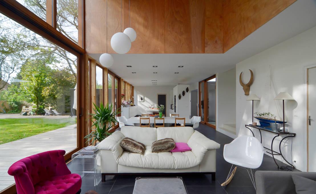 lalou lebec architectes maison a lambersart homify. Black Bedroom Furniture Sets. Home Design Ideas