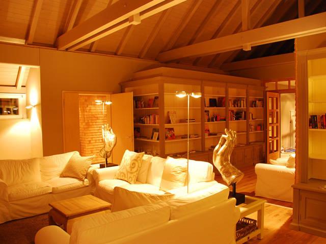 dekolux lichtplanung e k spa badehaus mit sauna fleesensee homify. Black Bedroom Furniture Sets. Home Design Ideas