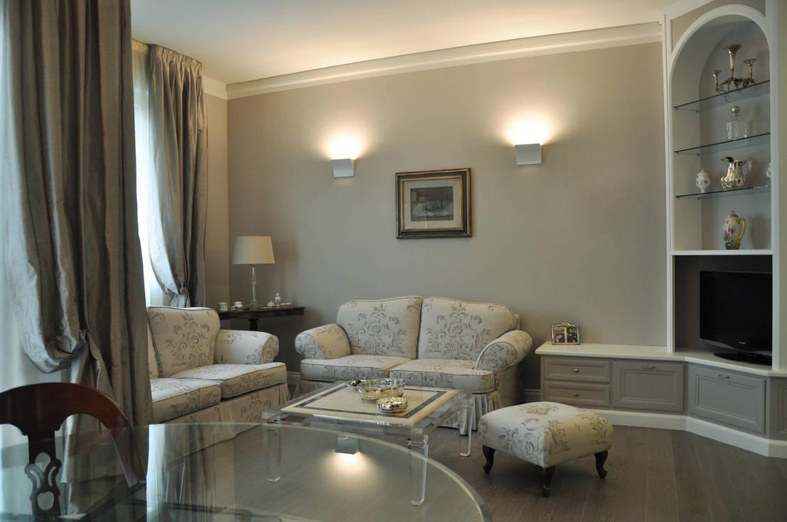 Arredamento soggiorno classico arredamento soggiorno - Arredamento casa classico contemporaneo ...