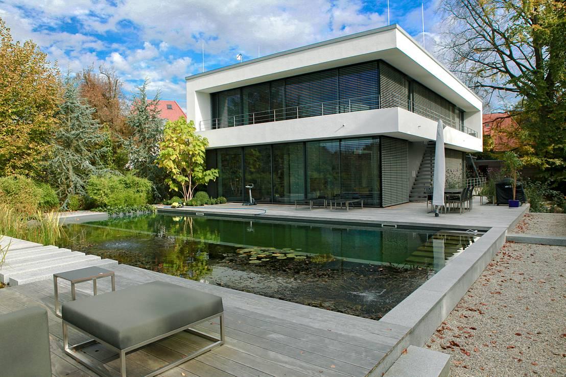 anwesen in freising von herzog architektur homify. Black Bedroom Furniture Sets. Home Design Ideas