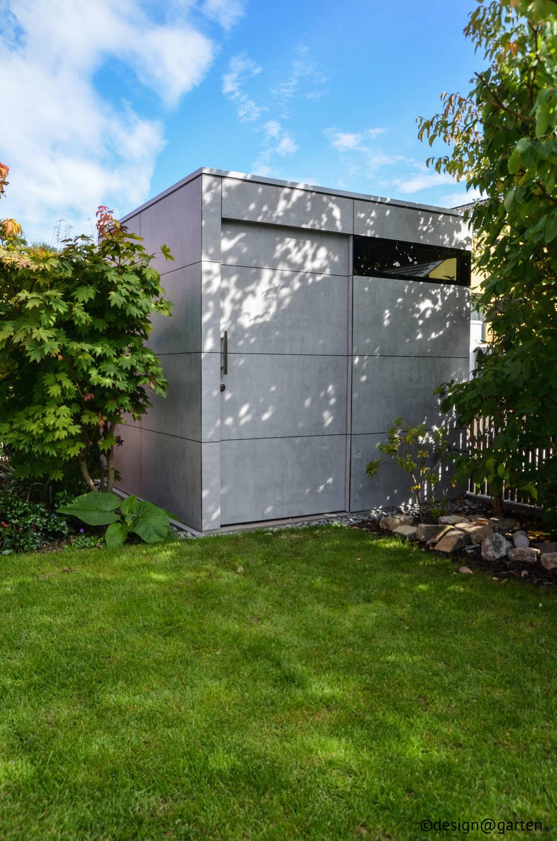 gartenhaus gart zwei augsburg von design garten homify. Black Bedroom Furniture Sets. Home Design Ideas