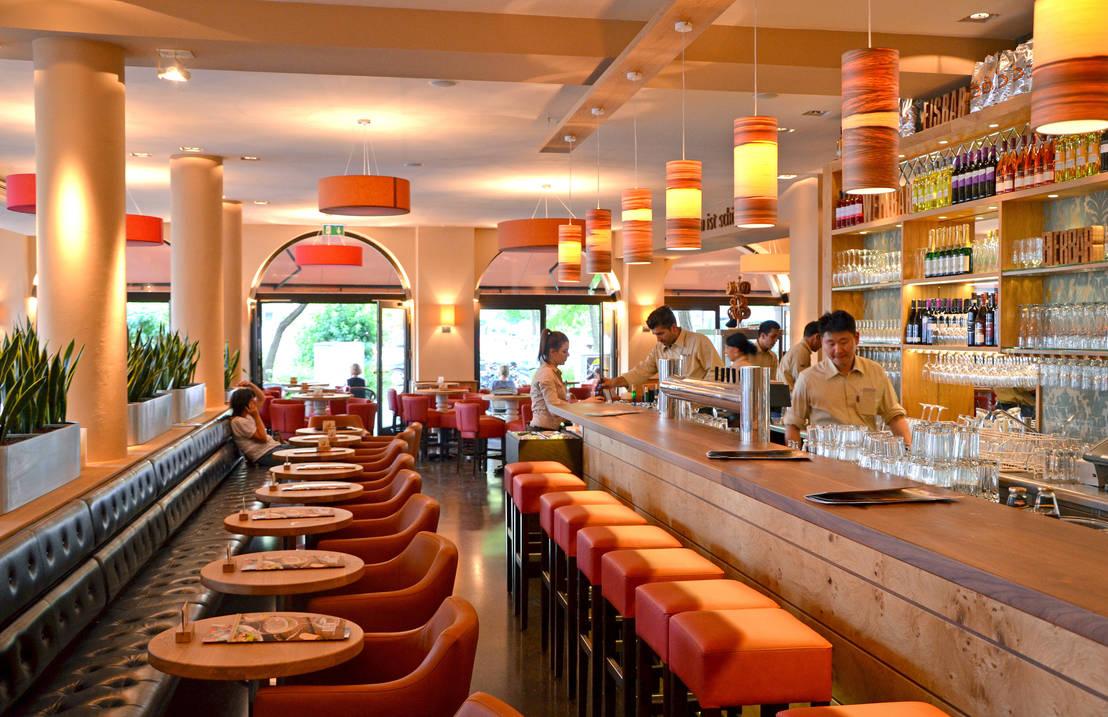p m furniture alex restaurant rotkreuzplatz m nchen homify. Black Bedroom Furniture Sets. Home Design Ideas