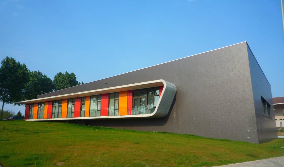 Escuela De Danza En Perillo Oleiros By Naos Arquitectura Estudios  Arquitectura Coruna