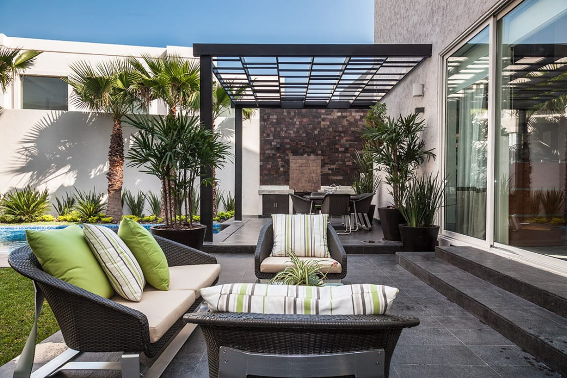 9 extraordinarias ideas para amueblar tu terraza y jard n for Como cocinar setas parasoles