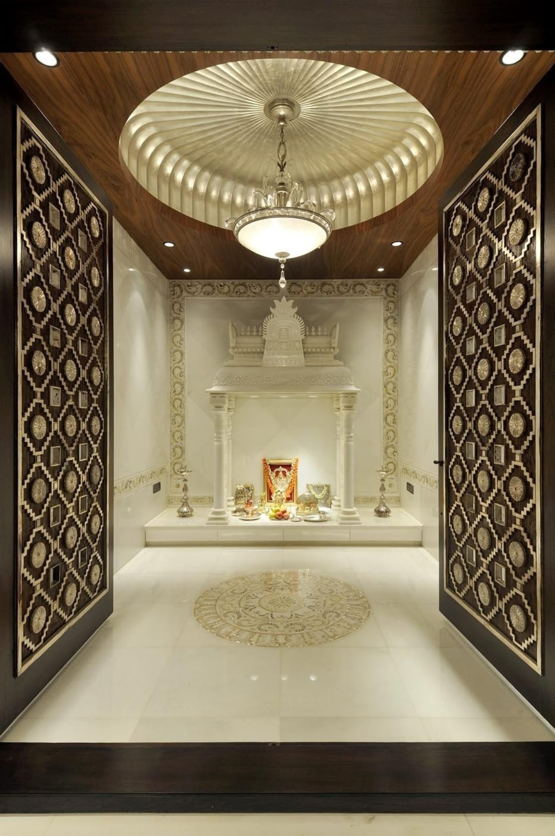 Puja Room Design: 10 Pooja Room Door Designs For Your Home