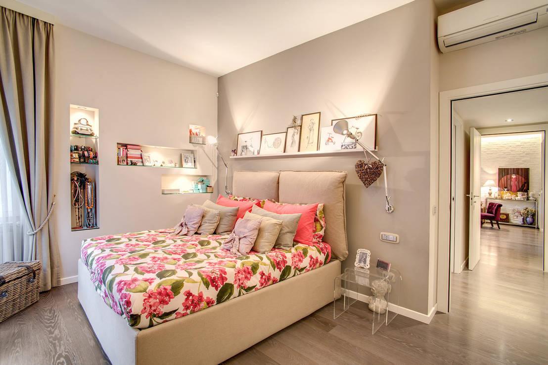 42 foto di camere da letto fantastiche arredate dai nostri - Foto di innamorati a letto ...