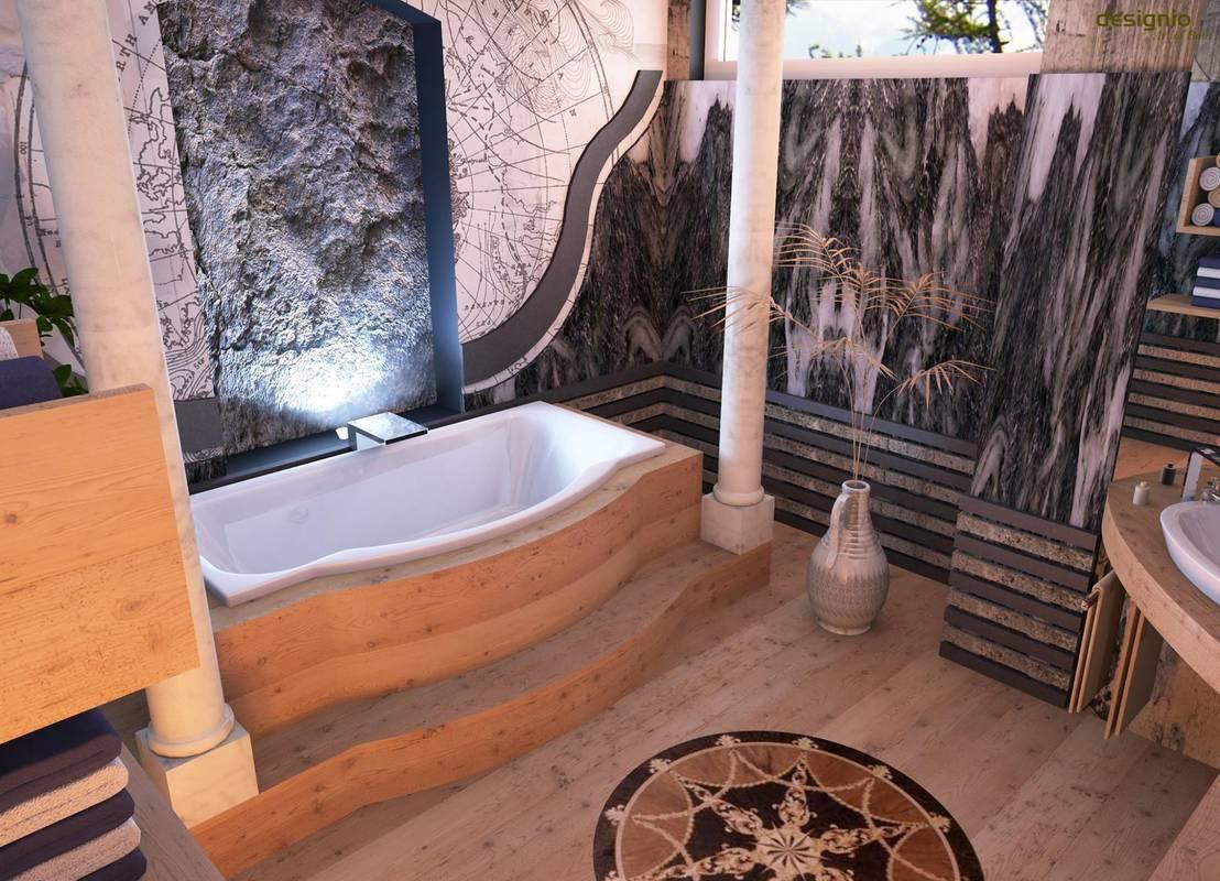 holz im nassbereich heutzutage eine gute wahl von art of bath homify. Black Bedroom Furniture Sets. Home Design Ideas
