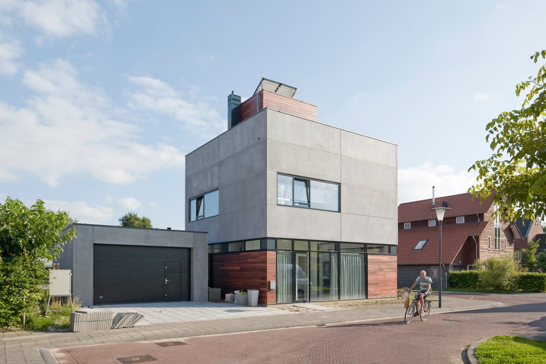 Die moderne variante einer villa for Hausformen einfamilienhaus