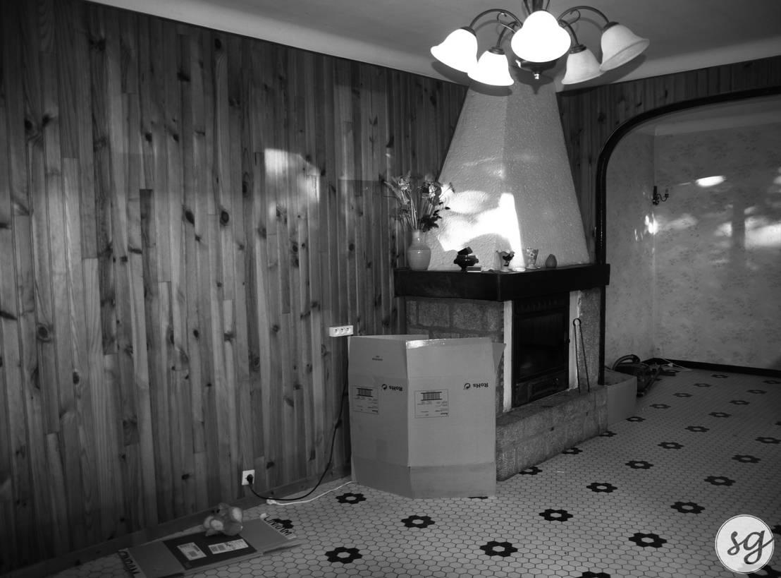 r novation d 39 une maison des ann es 70 by sarah gautreau homify. Black Bedroom Furniture Sets. Home Design Ideas