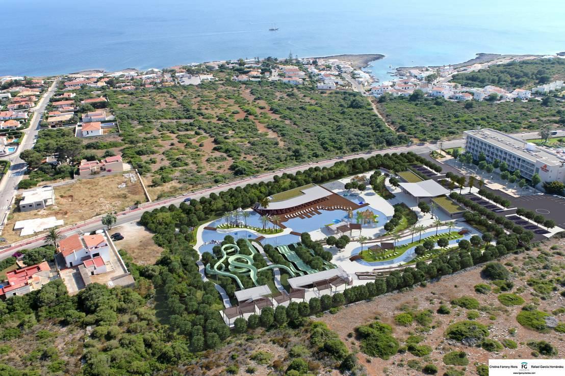 Parque acu tico en menorca by fg arquitectes homify - Parque acuatico menorca ...